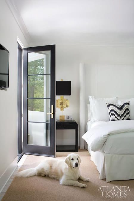 The Bold Neutral Look of Black & White Bedrooms | HomeandEventStyling.com