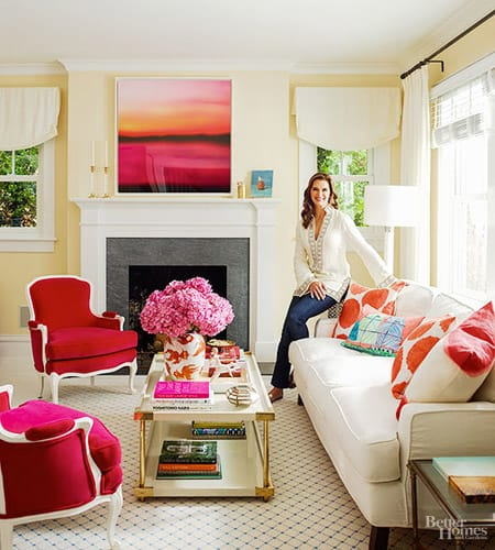 Home Tour: Brooke Shields' Hamptons Hideaway | HomeandEventStyling.com
