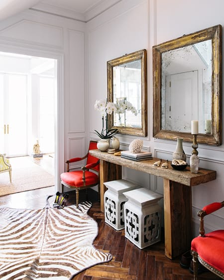 entryway console table. Choosing The Right Entryway Console Table | HomeandEventStyling.com