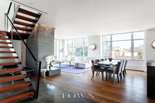 Home Tour: Katie Holmes' Modern NYC Rental | HomeandEventStyling.com