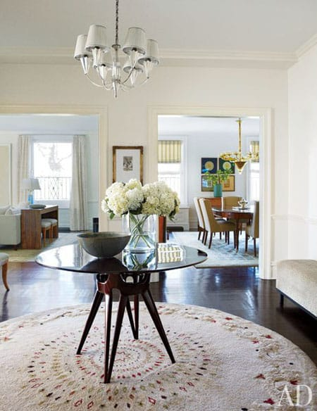Home Tour: Michael J. Fox's New York City Apartment | HomeandEventStyling.com #entryway