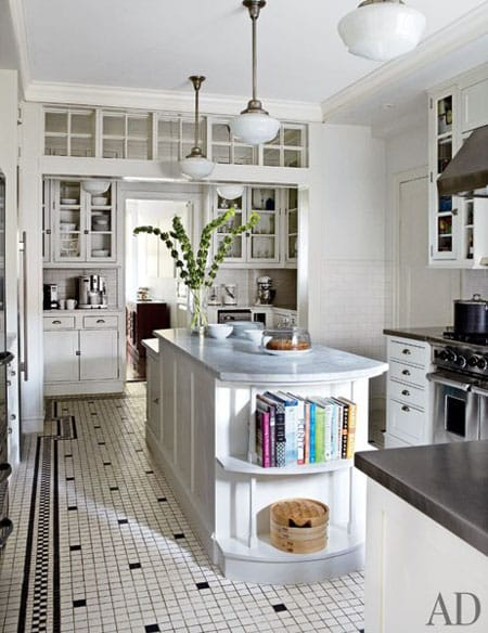 Home Tour: Michael J. Fox's New York City Apartment | HomeandEventStyling.com #kitchen