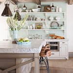 10 Captivating Kitchens with Open Shelving | HomeandEventStyling.com
