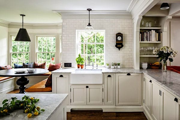10 Beautifully Updated Vintage-Style Kitchens | HomeandEventStyling.com