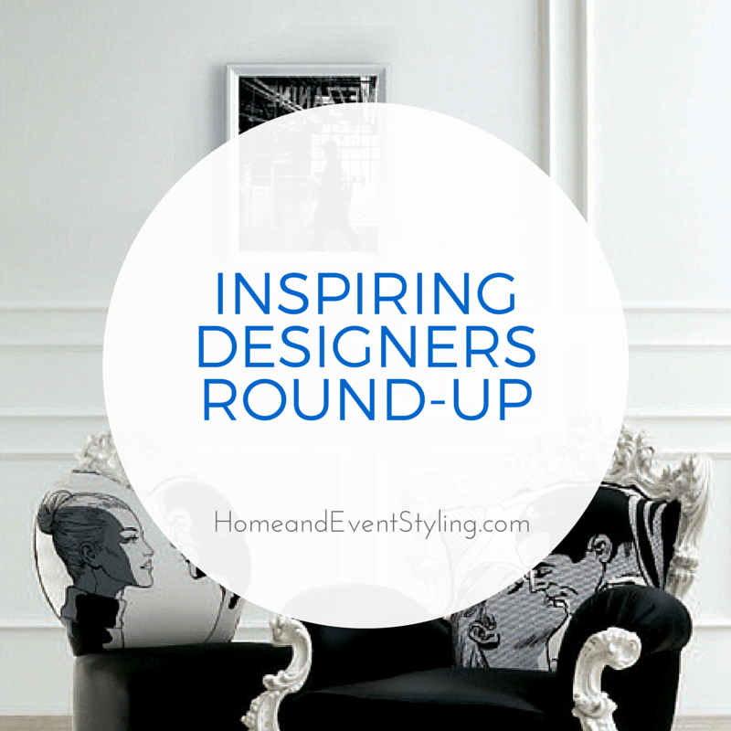 These inspiring designers have changed the way we look at design. Check out their amazing creativity in this round-up   HomeandEventStyling.com
