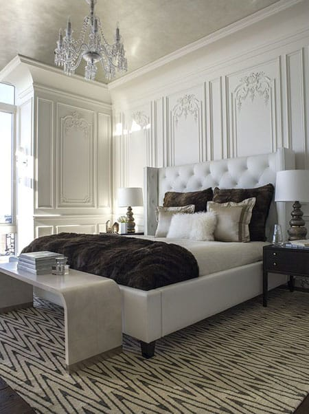 French Twist: 10 Inspiring Parisian Bedrooms | HomeandEventStyling.com