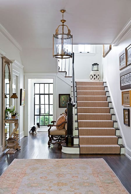 Ideas for Styling a Staircase Landing | HomeandEventStyling.com