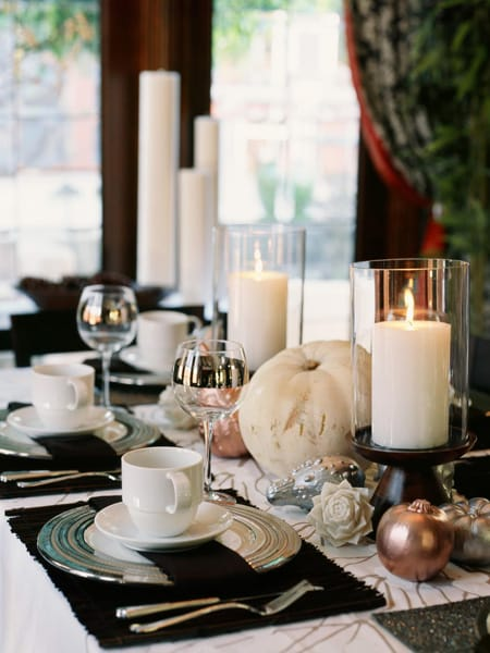 10 Stylish Thanksgiving Centerpiece Ideas | HomeandEventStyling.com