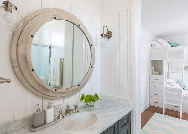 10 Inspiring Bathroom Mirror Ideas | HomeandEventStyling.com