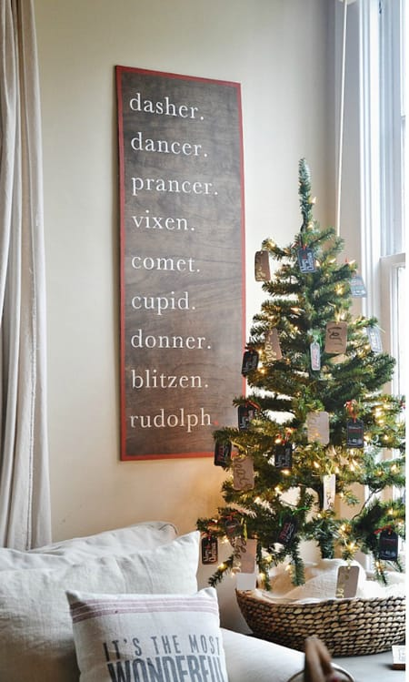 10 Charming DIY Christmas Decor Ideas | HomeandEventStyling.com