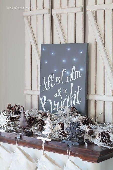 10 Charming DIY Christmas Decor Ideas   HomeandEventStyling.com