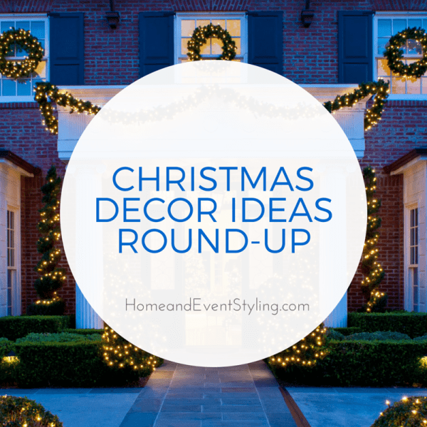 Get inspired for Christmas with this round-up of 60+ Christmas decor ideas! Click here to head to HomeandEventStyling.com.