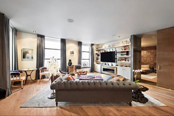Home Tour: John Legend and Chrissy Tiegen's NYC Apartment | HomeandEventStyling.com