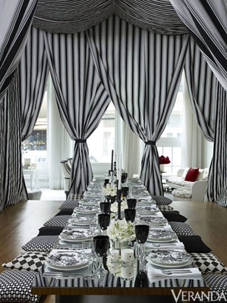 Inspiration for a Chic New Year's Eve Party | HomeandEventStyling.com