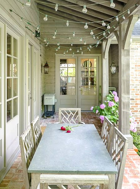 Improving Your Outdoor Space with String Lights | HomeandEventStyling.com