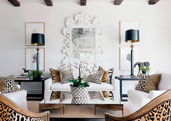 Animal Print Chairs Living Room With Regard To Inspire