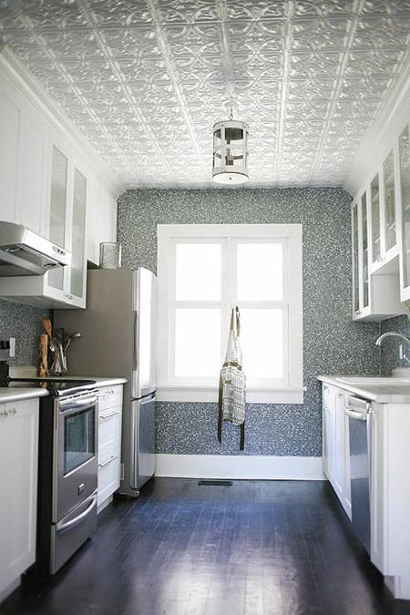 10 Stylish Spaces with Tin Ceilings | HomeandEventStyling.com