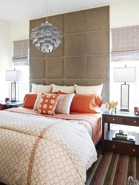 Megan morris tips ideas inspiration for home and - Floor to ceiling headboard ...