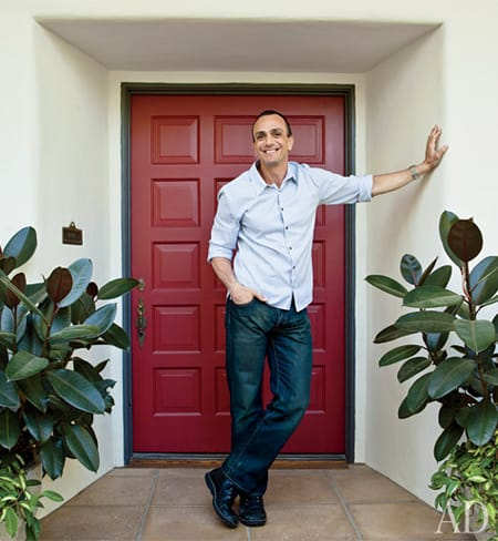 Home Tour: Hank Azaria's Bel Air Hideaway | HomeandEventStyling.com