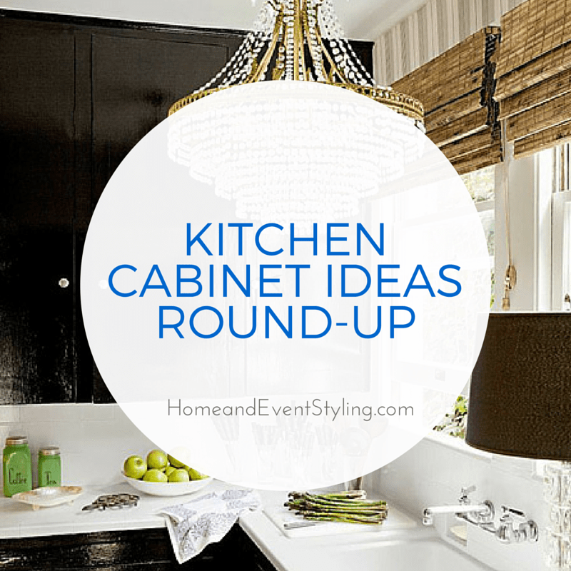 Get some ideas to freshen up your kitchen with this huge round-up of fabulous kitchen cabinet ideas!