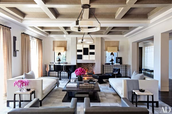 Home Tour: Kourtney Kardashian's Fashionable Family Home | HomeandEventStyling.com