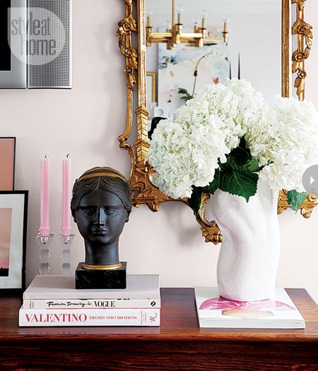 10 Pretty in Pink Rooms | HomeandEventStyling.com