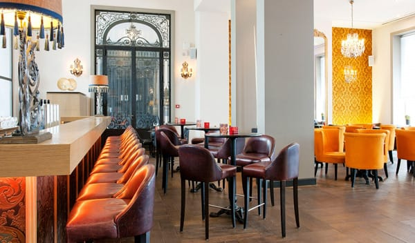 Hotel Tour: The Dominican in Brussels | HomeandEventStyling.com