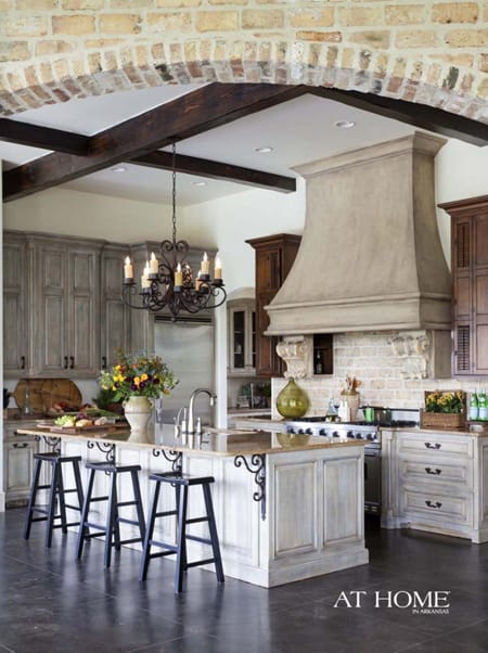 10 Gorgeous Tuscan Kitchens | HomeandEventStyling.com