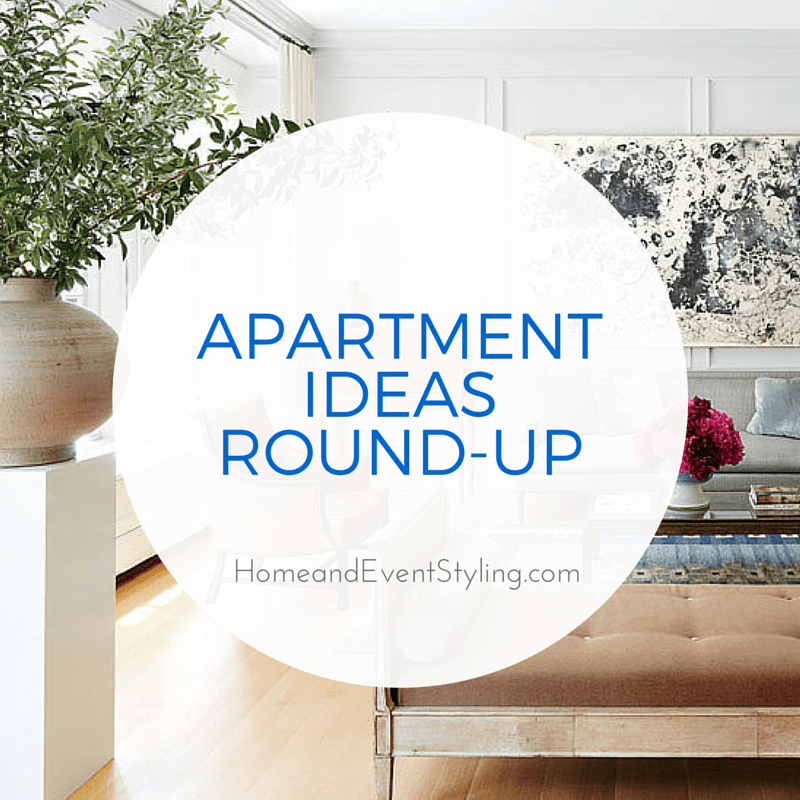 Get some great ideas for apartment decor from this round-up of inspiring spaces! | MeganMorrisBlog.com