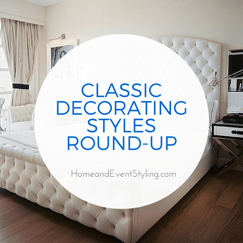 Classic decorating styles round up megan morris for Classic design style