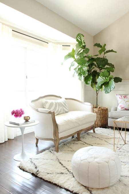 The Versatile Style of a Settee | MeganMorrisBlog.com