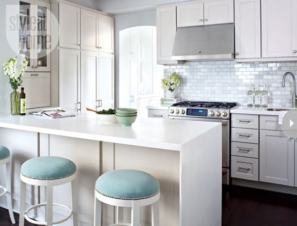10 Beautiful and Sleek Modern Kitchens | MeganMorrisBlog.com
