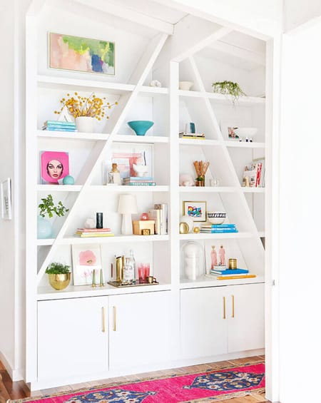 10 Beautiful Built-In Bookcases | HomeandEventStyling.com