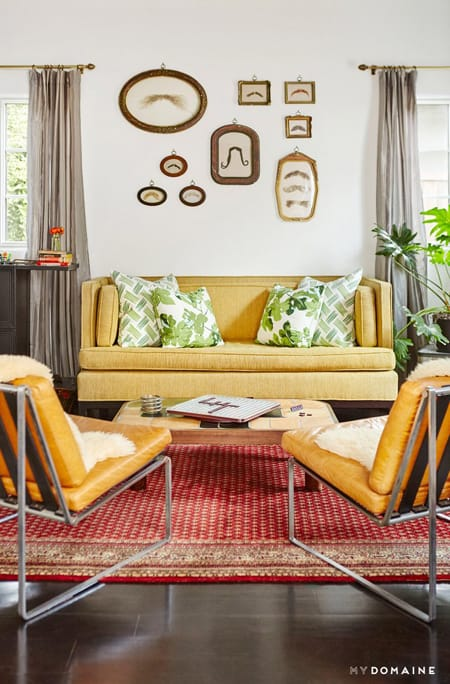 Home Tour: Constance Zimmer's Colorful & Eclectic Home | HomeandEventStyling.com