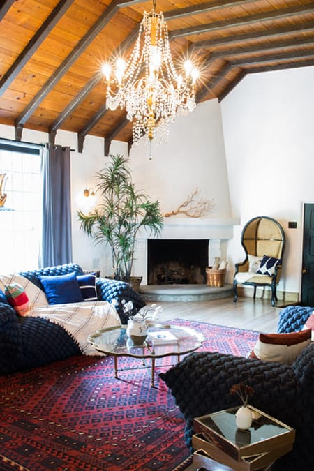 Home Tour: Dianna Agron's Charming Hollywood Hills Home | HomeandEventStyling.com