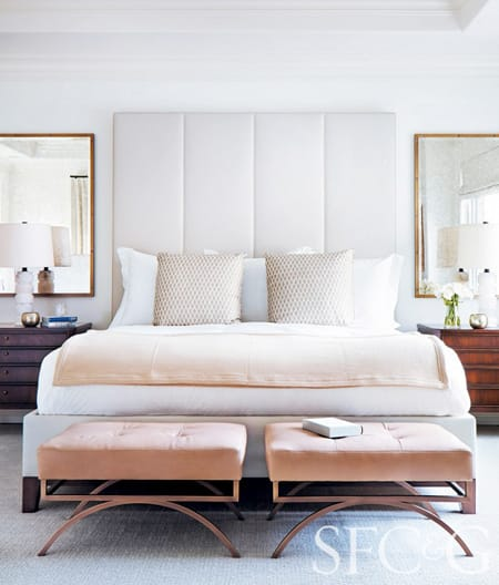 10 Glamorous Bedroom Ideas That Shine | HomeandEventStyling.com