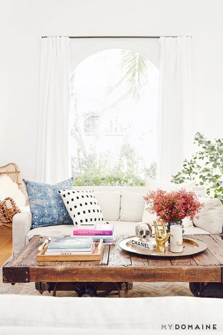 Nina Dobrev's Colorful Bungalow in California | HomeandEventStyling.com