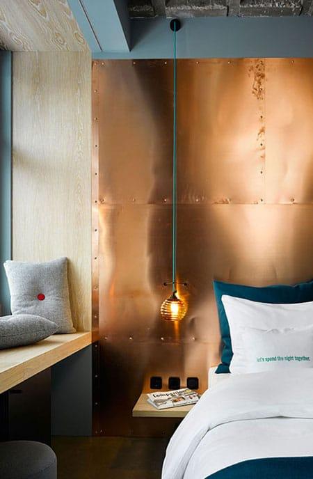 10 unique wall treatment ideas megan morris - Cool wall treatments ...