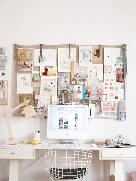 Inspiring Craft Rooms and Work Spaces | HomeandEventStyling.com