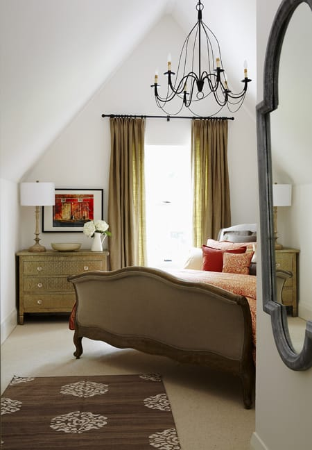Fresh Home Trick: Angled Bed in the Corner | HomeandEventStyling.com