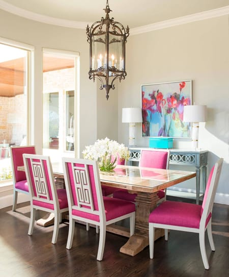 Decorating with Colorful Chairs to Add Pizzazz | HomeandEventStyling.com