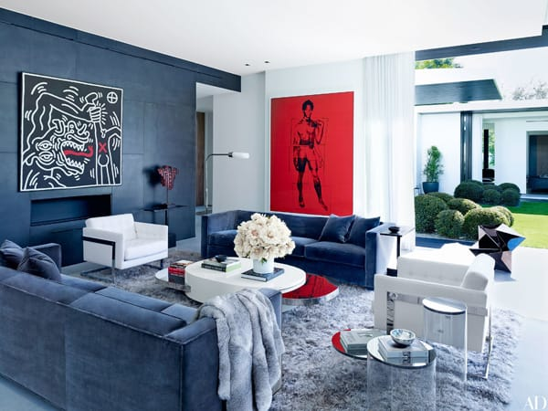 Home Tour: Alex Rodriguez's Modern Florida Home | HomeandEventStyling.com