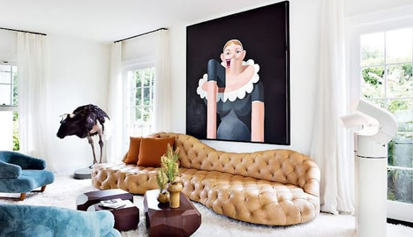 Camel Sofas: The Neutral Statement Piece | HomeandEventStyling.com