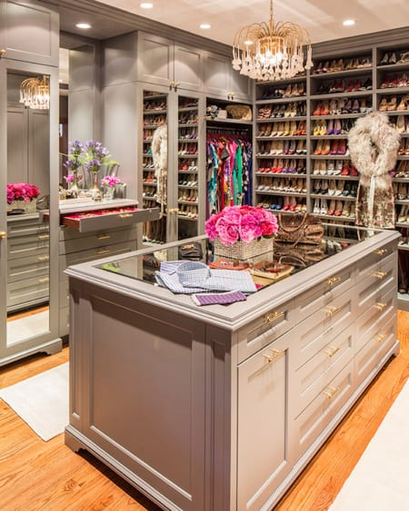 10 Luxury Closets with Islands | HomeandEventStyling.com