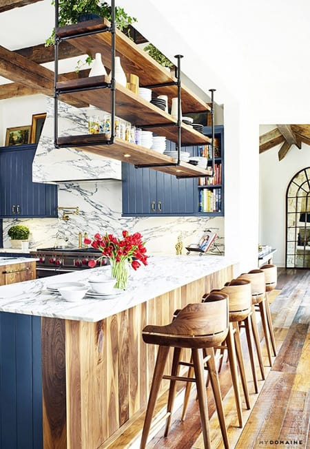 Home Tour: Brooklyn Decker Eclectic Southern Home | HomeandEventStyling.com