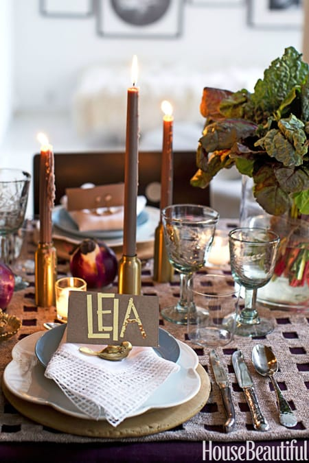 Rustic Table Settings Perfect for Fall | HomeandEventStyling.com