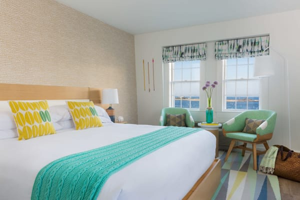 Hotel Tour: The Colorful Summercamp Hotel in Martha's Vineyard | HomeandEventStyling.com