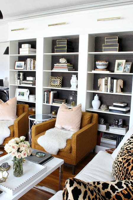 10 Charming Living Rooms with Built-In Bookcases | HomeandEventStyling.com
