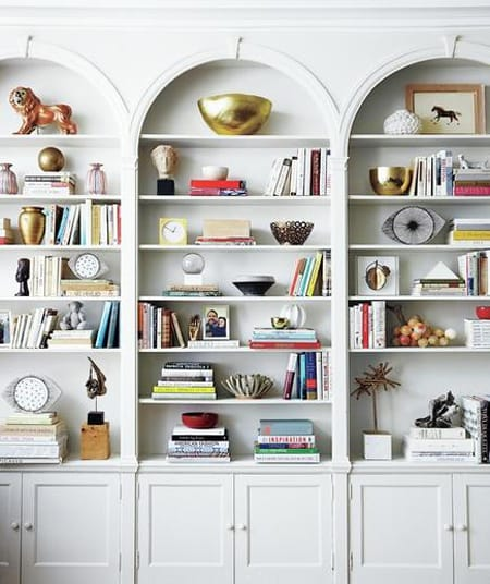 10 Charming Living Rooms with Built-In Bookcases   HomeandEventStyling.com