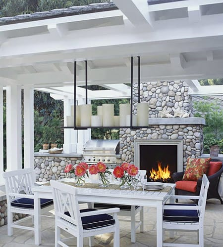 Warming Up Your Patio with an Outdoor Fireplace Megan Morris